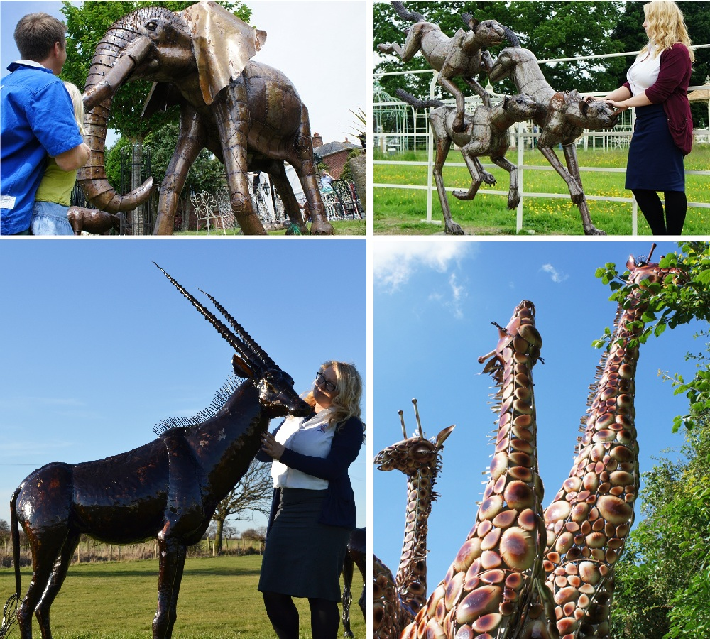 Sculptures & Animals