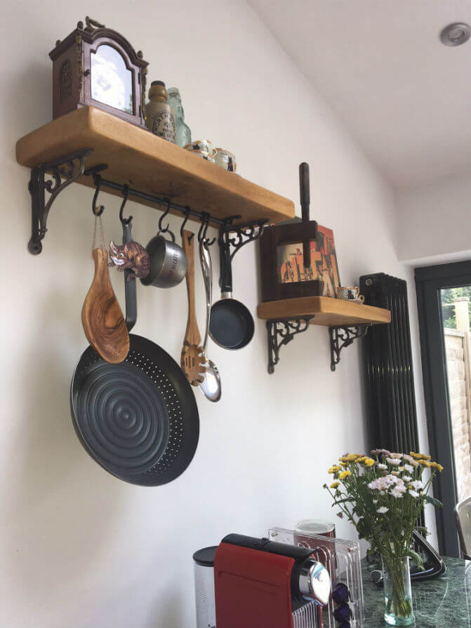 Black kitchen hooks