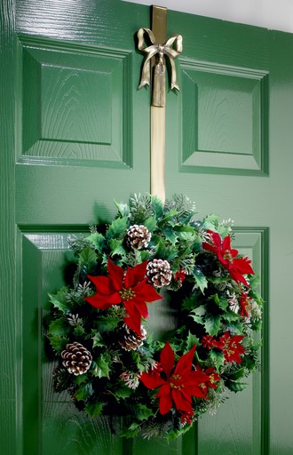 This Wonderful Collection Of Wreath Hangers And Holders Offer The Perfect  Solution To Suspending Your Gorgeous New Christmas Wreath On Your Front Door .