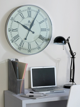 Contemporary Wall Clocks Black Country Metal Works