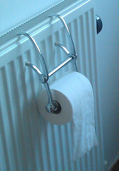 Toilet roll holder feedback
