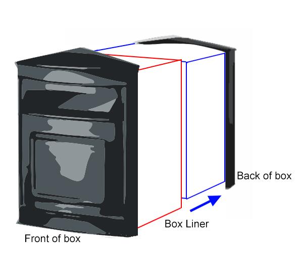 Built In Post Box