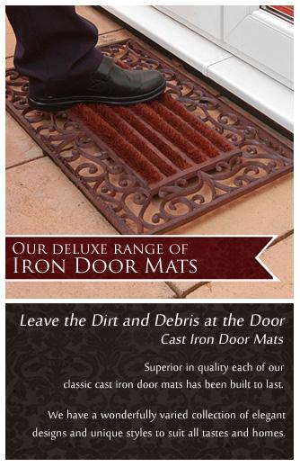 Deluxe Cast Iron Door Mat