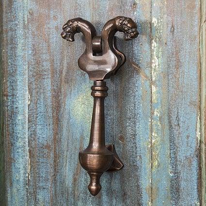 Antique Copper Door Knockers