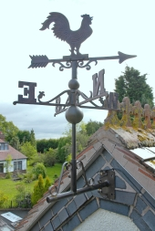 Weathervanes In Cast Iron