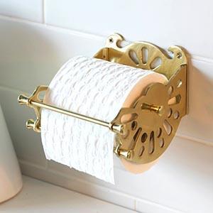 Brass Toilet Roll Holders