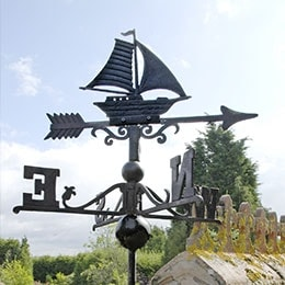 Cars, Boats & Train Weathervanes