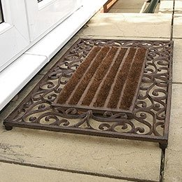 Cast Iron Door Mats