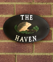 Cast Iron Effect House Name Signs
