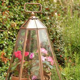 Copper Garden Cloches