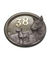 Bronze Dog Signs