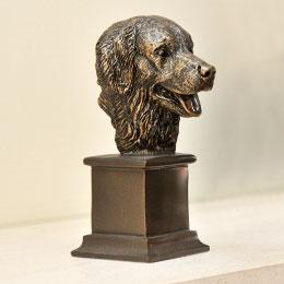 Dog Head Busts & Plaques