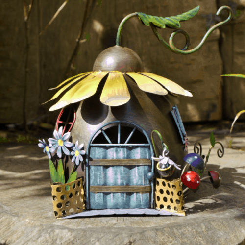 Flower Fairy Houses