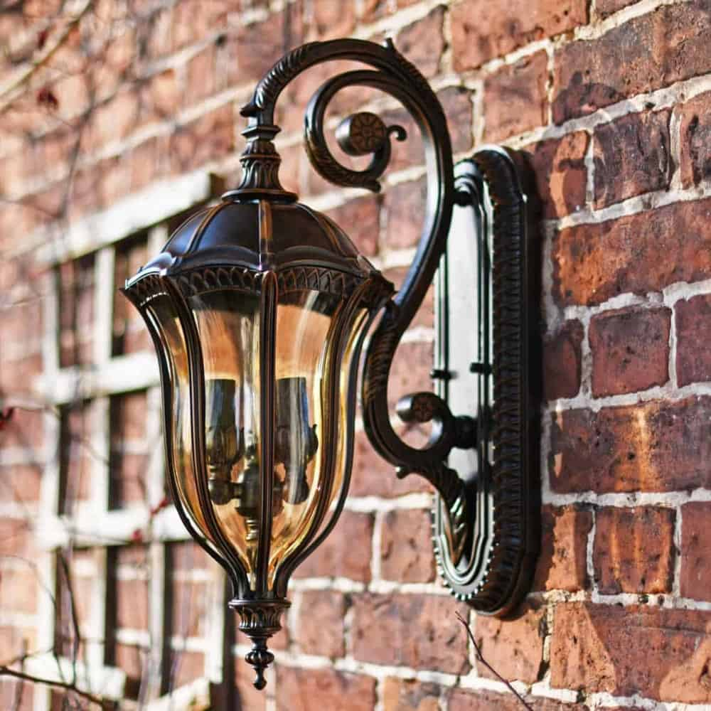 Gothic & Medieval Outdoor Wall Lanterns