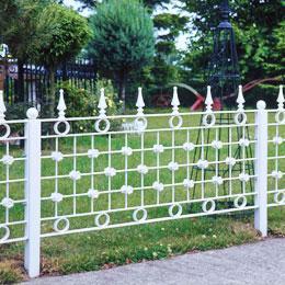 Garden Fences & Lawn Edging