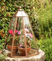 Copper Garden Cloches