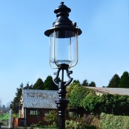 Globe & Glass Lamp Posts