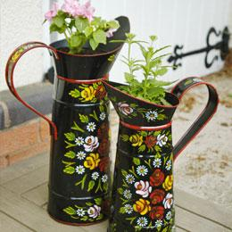 Hand Painted Planters