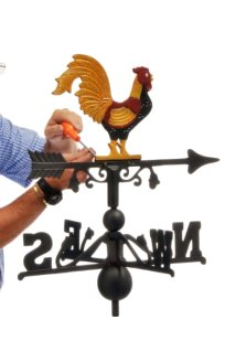 Hand-Painted Weathervanes