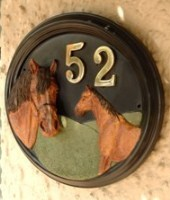 Horse House Signs