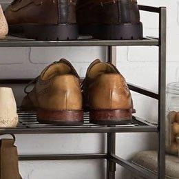 Iron Shoe Racks & Shoe Stands