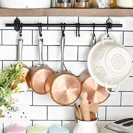 Kitchen Pot & Pan Racks