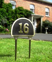 Lawn Number Signs