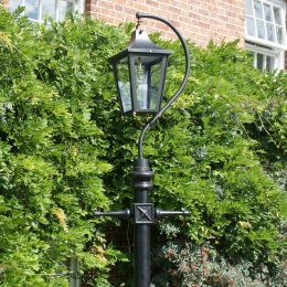 Swan Neck Lamp Posts