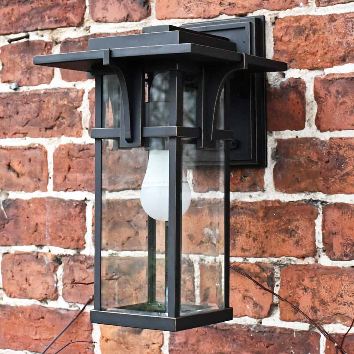 Modern & Contemporary Outdoor Wall Lights