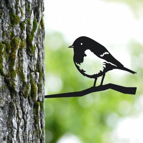 Metal Bird Tree Decorations