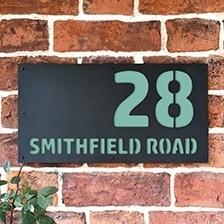 """Smithfield"" House Signs"