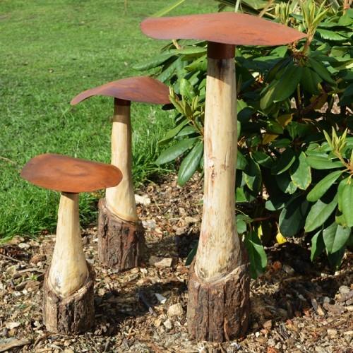 Mushroom Garden Sculptures & Ornaments