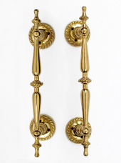 Period Brass Pull Handles