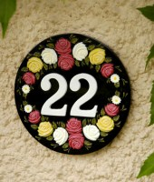 Floral House Numbers
