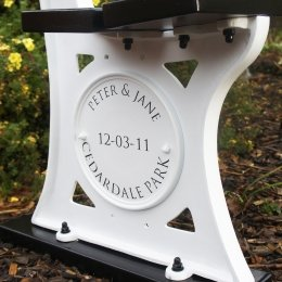 Personalised Bench Discs