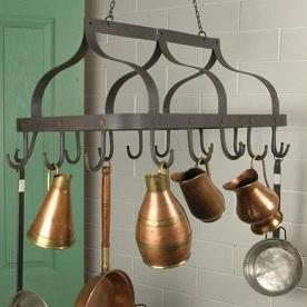 Kitchen Pot & Pan Racks