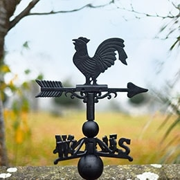 Rooster, Cockerels & Bird Weathervanes