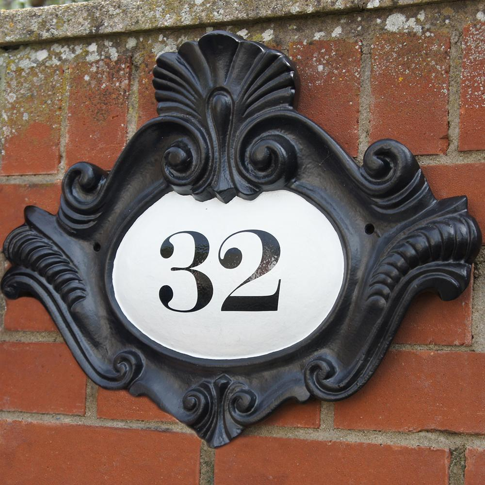 Traditional House Number Signs