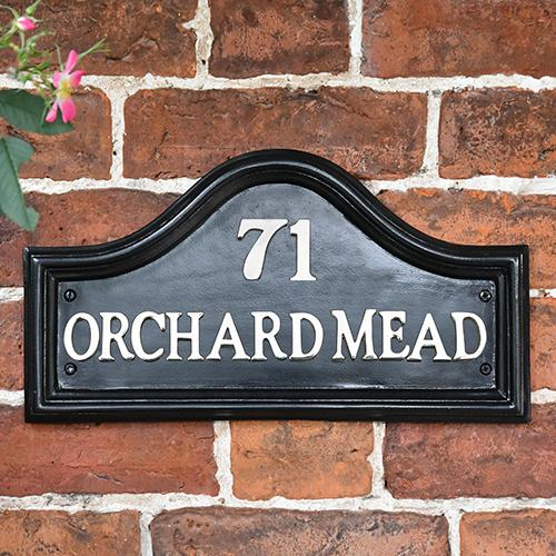 Traditional House Name Signs