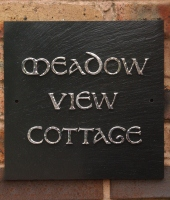 Genuine Welsh Slate House Name Signs