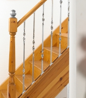 Amazing Stainless Steel Stair Spindles With Black Iron Stair Spindles