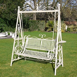 iron outdoor furniture woodard swing seats garden furniture black country metal works