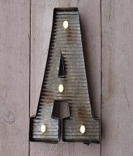 Letter Wall Lights