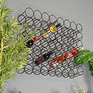Wall Mounted Wine Racks & Holders