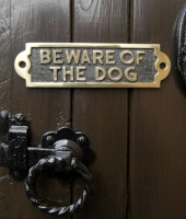 Be Aware of the Dog signs