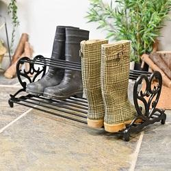 Iron Shoe Racks & Shoe Stands