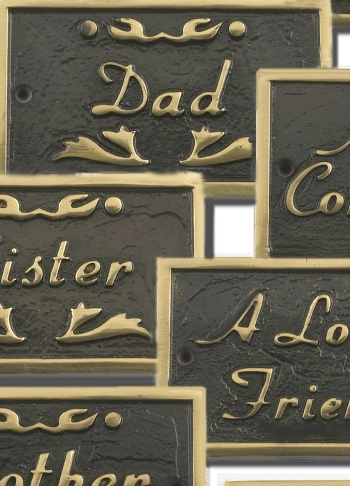 Memorial Plaques and Remembrance Signs
