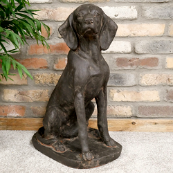 Dog Garden Sculptures