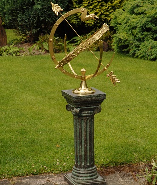 Complete Sundial and Armillary Sets
