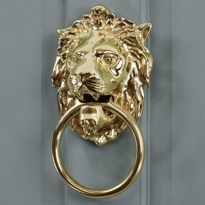 Lion Door Knockers
